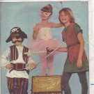 BUTTERICK PATTERN 4010 SIZE 7 CHILD'S COSTUMES FLYING BOY FAIRY PIRATE
