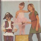 BUTTERICK PATTERN 4010 SIZE S/M/L CHILD'S COSTUMES FLYING BOY FAIRY PIRATE