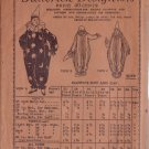 BUTTERICK 1919 PATTERN #4048 SIZE 5 CHILD'S CLOWN COSTUMES
