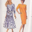 BUTTERICK PATTERN 4056 SIZE SMALL & MEDIUM MISSES' TOP SKIRT DRESS