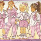 BUTTERICK PATTERN 4244 SIZE 1/2/3 CHILD'S VEST SHIRT SKIRT SHORTS PANTS