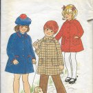 BUTTERICK PATTERN 4473 SIZE 5 GIRL'S COAT  2 VARIATIONS