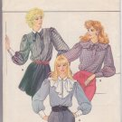 Butterick pattern 4550 SIZES 6 Misses' Blouse with 3 Separate Collars