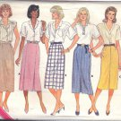 Butterick pattern 4645 Dated 1987 SIZES 12-14-16  Misses' Skirts 3 variations