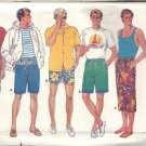 BUTTERICK PATTERN 4664 SIZES XS/S/M MENS' SHORTS IN 5 VARIATIONS