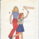 BUTTERICK PATTERN 4674 SIZE 4  GIRLS' TOP, SKIRT & PANTS