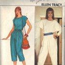 BUTTERICK PATTERN 4683 SIZES 8/10/12 MISSES' TOP & PANTS BY ELLEN TRACY