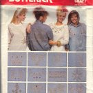 BUTTERICK PATTERN 4695 ONE SIZE JAZZ UP YOUR CLOTHES 24 MOTIFS