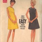 BUTTERICK PATTERN 4759 SIZE 12 MISSES' A LINE SLEEVELESS DRESS