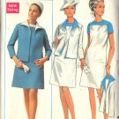 BUTTERICK PATTERN 4855 SIZE 18 MISSES' DRESS & JACKET