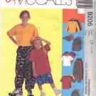 McCALL'S PATTERN 9206 SZ 4,5,6 CHILDREN'S SHIRT, T-SHIRT,PANTS,SHORTS, HAT