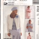 McCALL'S PATTERN 8152 DATED 1996 SZS 12-14-16-18 MISSES' UNLINED JACKET 2 LENGTH