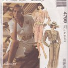 McCALL'S PATTERN 4799 SIZE 6/8/10 MISSES' DRESS UNCUT