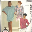 McCALL'S PATTERN 4826 SIZE MD 14/16 MISSES' DRESS OR TOPS