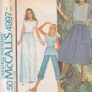 McCALL'S VINTAGE 1976 PATTERN 4997 SIZE 8 MISSES' WRAP DRESS OR TOP UNCUT
