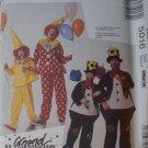 McCALL'S VINTAGE 1990 PATTERN 5016 SIZE 7/8 CHILD'S CLOWN & HOBO CLOWN UNCUT