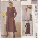 McCALL'S VINTAGE 1990 PATTERN 5028 SIZE 12/14/16 MISSES' VEST JUMPSUIT DRESS UNCUT