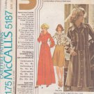 McCALL'S VINTAGE PATTERN 5187 SIZE 14.5/16.5/18.5 DRESS OR TOP UNCUT