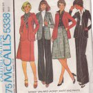 McCALL'S 1976 PATTERN 5301 SIZE 8 MISSES' JACKET, SKIRT & PANTS
