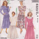 McCALL'S PATTERN 6323 SIZE 8/10/12 MISSES' TWO-PIECE DRESS