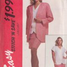 McCALL'S VINTAGE 1993 PATTERN 6359 SIZE 18/20/22/24 MISSES' JACKET TOP SKIRT UNCUT