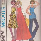 McCall's PATTERN  dated 1975 All SIZES Misses' Butcher Apron