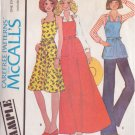 McCall's PATTERN  dated 1975 SIZE PETITE & SM Misses' Butcher Apron