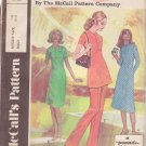 McCall's PATTERN A dated 1971 SIZE 12 Misses' Dress Tunic Pants UNCUT