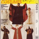 McCALL'S 2000 PATTERN P456 5665 SIZE XS/S/M/L ADULT COSTUMES ROBES 6 looks UNCUT