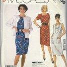 McCALL'S PATTERN 2356 SIZE 8/10 MISSES' JACKET & DRESS