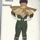 BUTTERICK PATTERN 3662 SIZE XS/SM/MD/LG CHILD'S POWER RANGER COSTUME