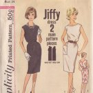 SIMPLICITY VINTAGE PATTERN 4429 SIZE 14 MISSES DRESS 2 VERSIONS