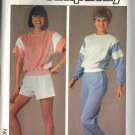 SIMPLICITY PATTERN 6906 SZ SM MISSES EASY PULLOVER TOP, PANTS,SHORTS