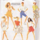 SIMPLICITY VINTAGE 1990 PATTERN 7229 SIZE PT-LG MISSES'  SHORTS 2 LENGTHS