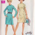 SIMPLICITY VINTAGE 1968 PATTERN 7850 SIZE 14 MISSES' DRESS 2 VARIATIONS