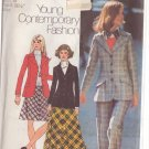 SIMPLICITY PATTERN 5212 MISSES SIZE 12  DUSTER, DRESS, COVER-UP