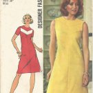SIMPLICITY VINTAGE PATTERN 5677 SIZE 12 MISSES' DRESS IN 2 VARIATIONS