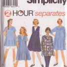 SIMPLICITY PATTERN 9342 SIZE XS/SM/MD MISSES' MATERNITY TOP DRESS PANTS SHORTS