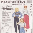 McCALLS PATTERN 6679 SIZE 10 MISSES' PANTS, SHORTS AND CULOTTES UNCUT