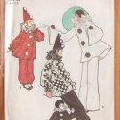 SIMPLICITY VINTAGE PATTERN 9579 SIZE SMALL UNISEX CLOWN COSTUMES