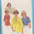 SIMPLICITY PATTERN 8209 SIZE 10 MISSES' BLOUSES, PULLOVER TOP 4 VARIATIONS