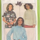 SIMPLICITY PATTERN 8293 SIZE 6/8 MISSES PULLOVER BLOUSE IN 3 VARIATIONS