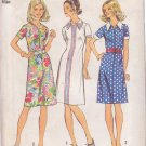 SIMPLICITY 5505 VINTAGE PATTERN SIZE 14 MISSES' DRESS IN 3 VARIATIONS
