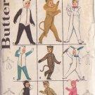 Butterick pattern 3193 size Md 6/8  Child's Costumes Panda, Lion, Rabbit, Cats