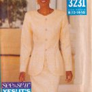 BUTTERICK VINTAGE 1993 PATTERN 3231 SIZE 12/14/16 MISSES' DRESS & JACKET UNCUT