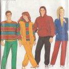 SIMPLICITY PATTERN 9788 SIZE XXS-XL KNIT PANTS, TOP W/HOOD, CARDIGAN from 1990