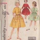 SIMPLICITY VINTAGE PATTERN 4629 SIZE 14  1/2 GIRLS DRESS 3 LOOKS