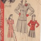 HOLLYWOOD PATTERN 850 MISSES' SIZE 12 2 PIECE SUIT 2 STYLES WENDY BARRIE
