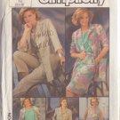 SIMPLICITY VTG 1985 PATTERN 7312 SIZE 6-8 MISSES' JACKET DRESS SKIRT TOP PANTS