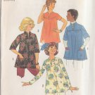 SIMPLICITY VINTAGE 1975 PATTERN 7273 SIZE 10 MISSES' MATERNITY TOPS